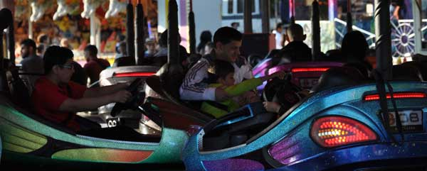 Funfair at Cassiobury