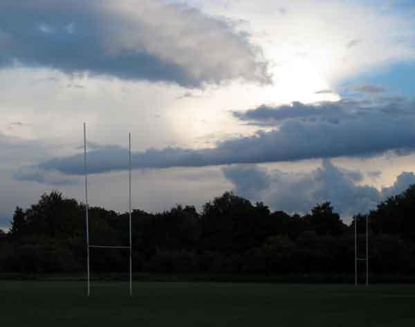 Rugby field, Cassiobury
